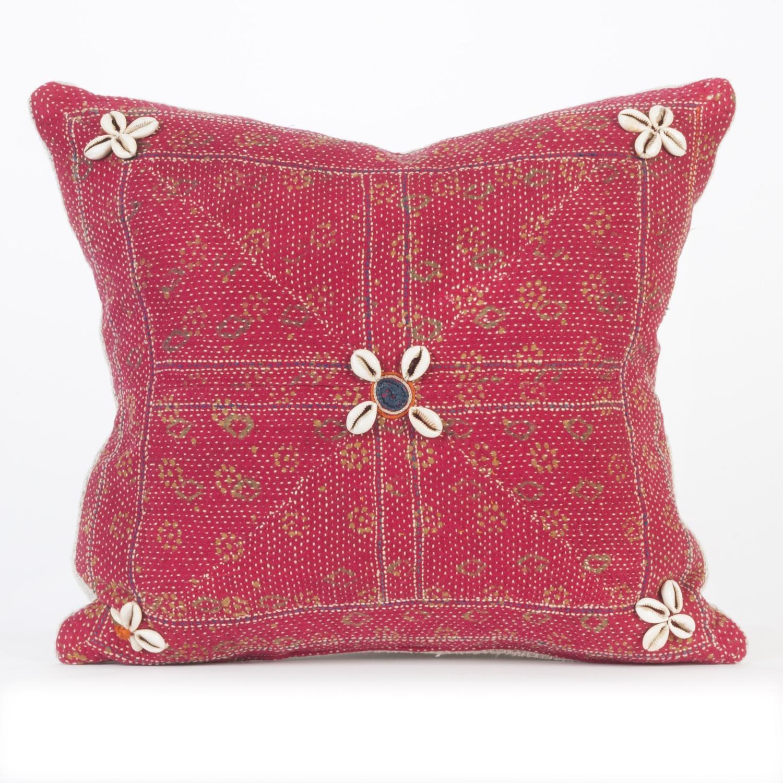 Vintage Banjara Cushion - Pink