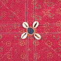 Vintage Banjara Cushion - Pink - picture 2