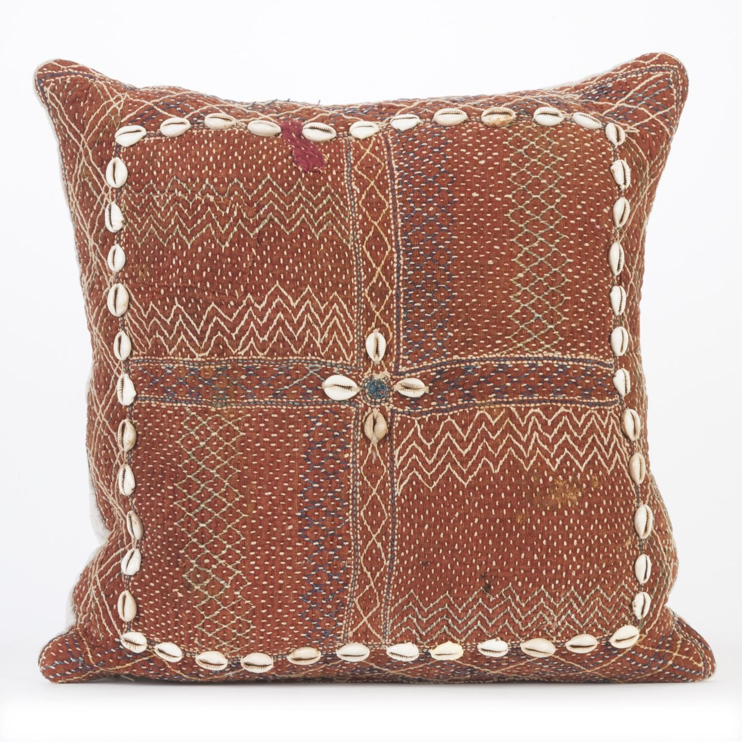 Vintage Banjara Cushion - Brown