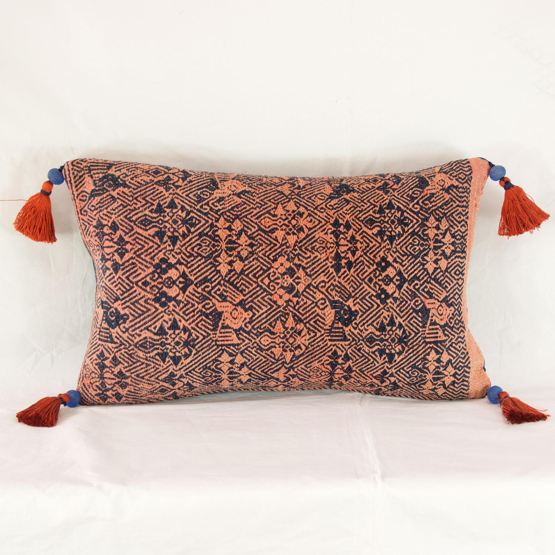 Terracotta & Indigo Maonan Cushions