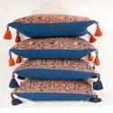 Terracotta & Indigo Maonan Cushions - picture 7