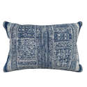 Vintage Indigo Batik Cushion - picture 1