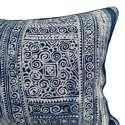 Vintage Indigo Batik Cushion - picture 2