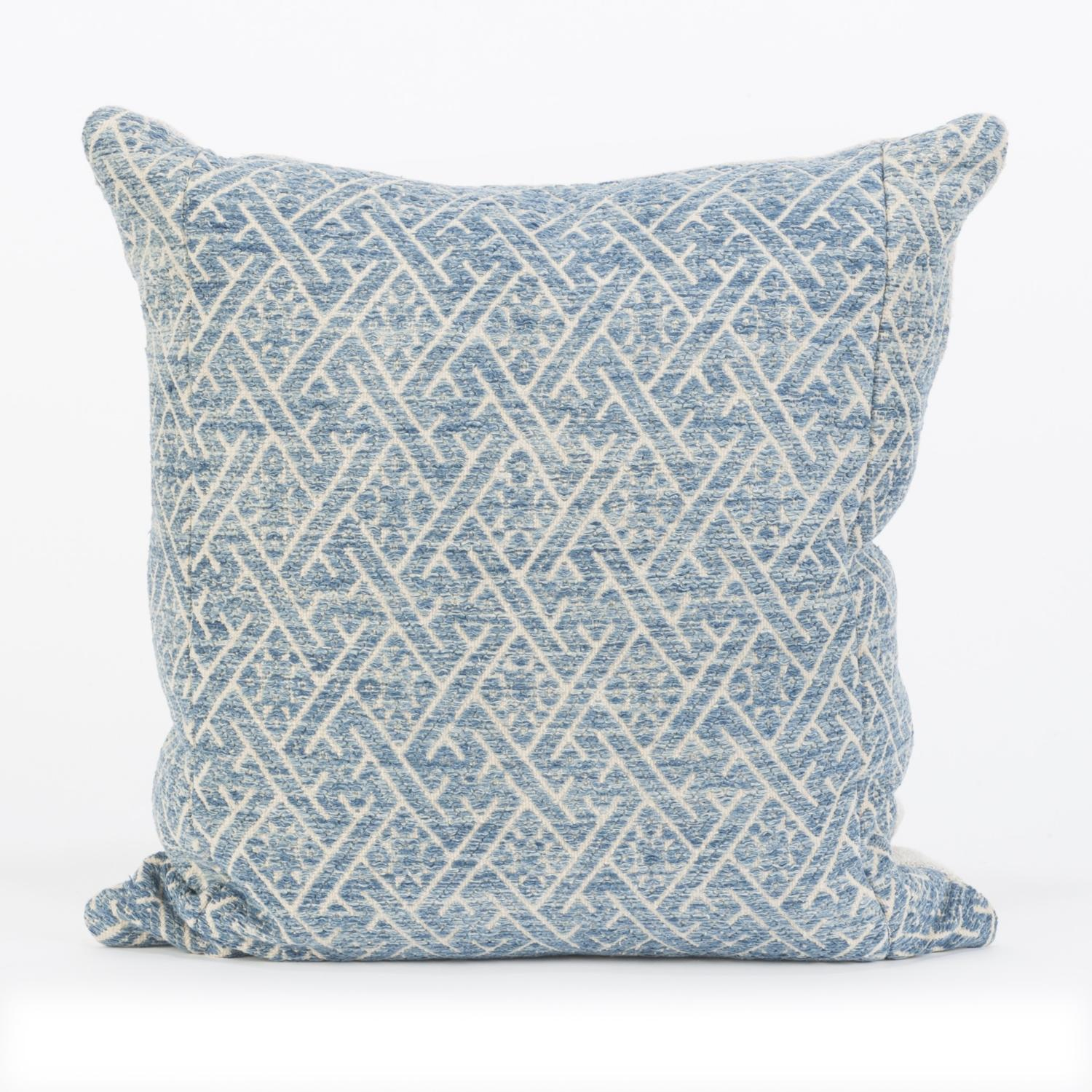Indigo Zhuang Wedding Blanket Cushions