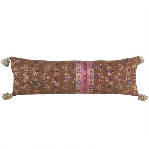 Brown Maonan Long Cushion