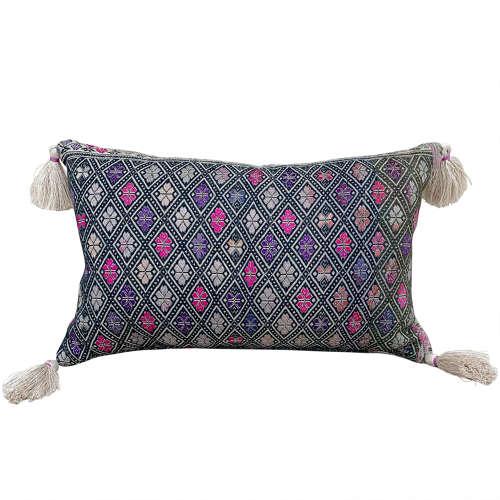 Wedding Blanket Cushions with Tassels