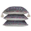 Wedding Blanket Cushions with Tassels - picture 3