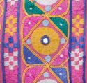 Rajasthan Skirt Cushions with Pink Tassels - picture 4