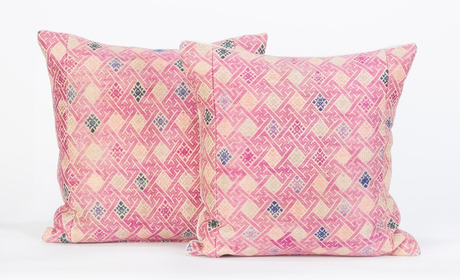 Square Wedding Blanket Cushions