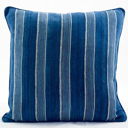 Vintage African Indigo Cushion