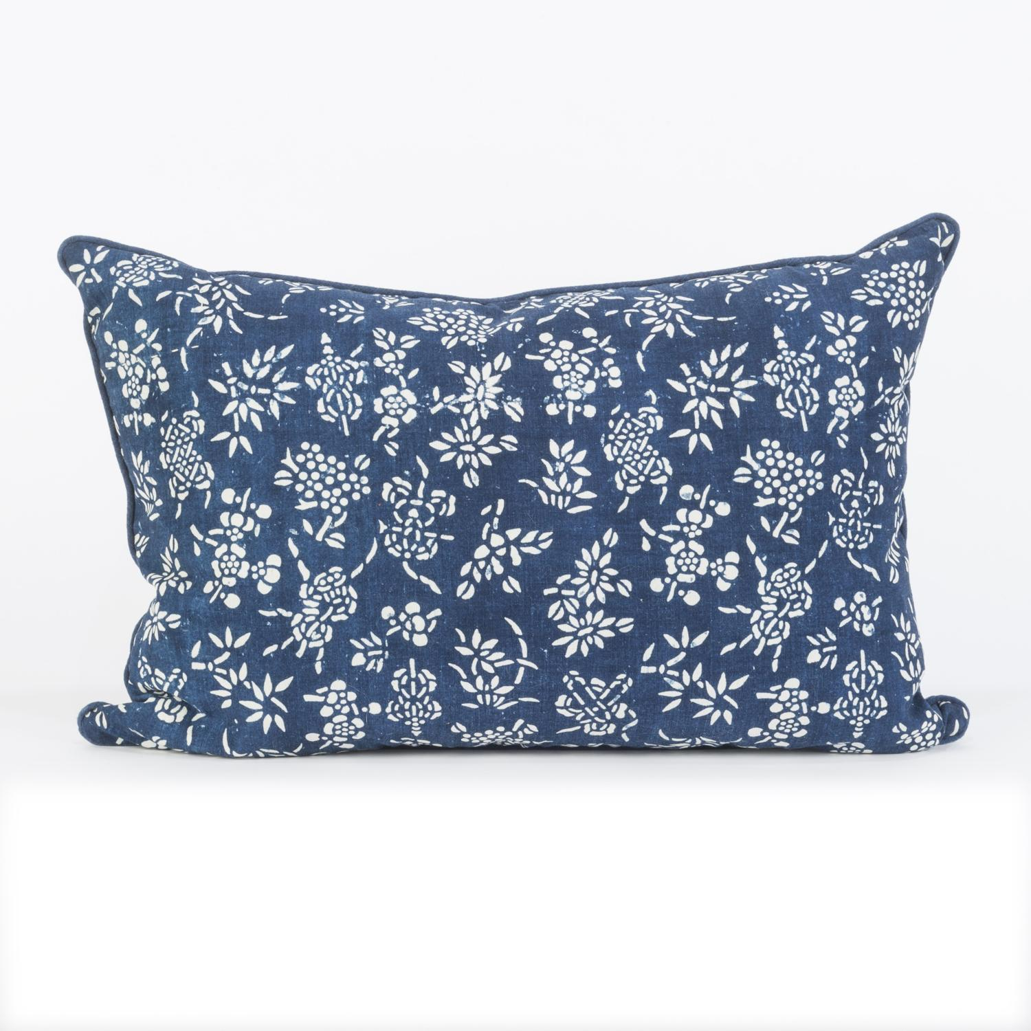 Indigo Resist Cushions