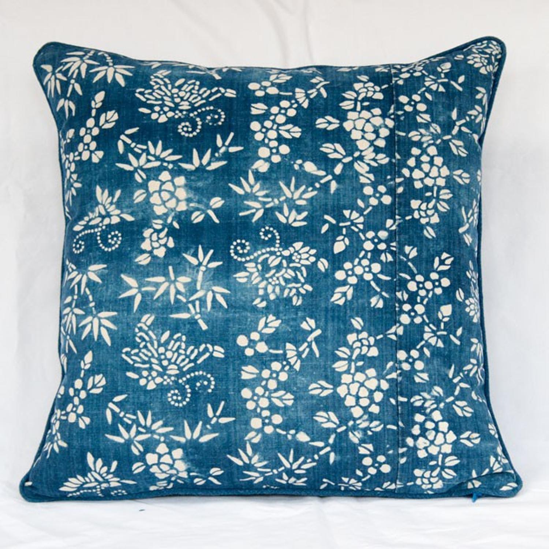 Vintage Chinese Textile Cushion