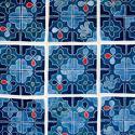 Framed Buyi Applique Quilt - picture 2