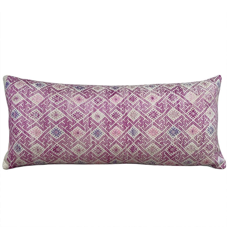 Faded Pink Zhuang Cushion