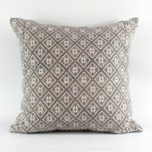 Grey Wedding Blanket Cushions