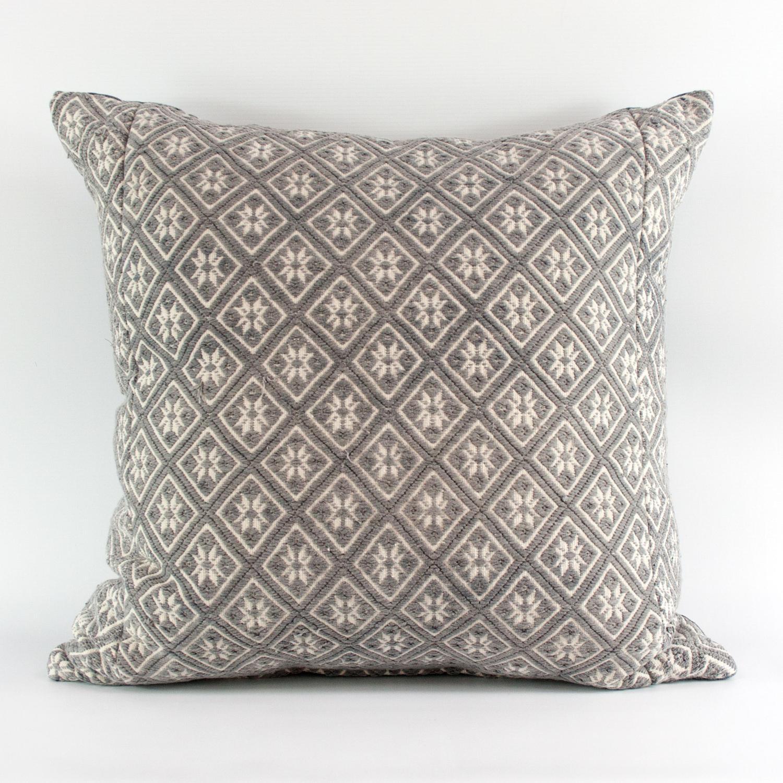 Grey Wedding Blanket Cushions
