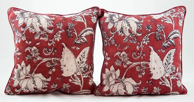 C18 Bloc Print Cushions