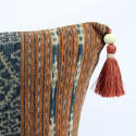 Large Ikat Cushions with Beaded Tassels - picture 3