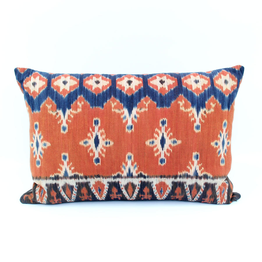 Comtemporary Ikat Cushion