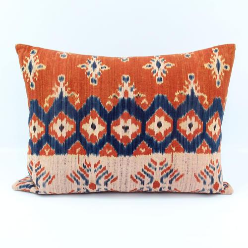 Contemporary Ikat Cushions