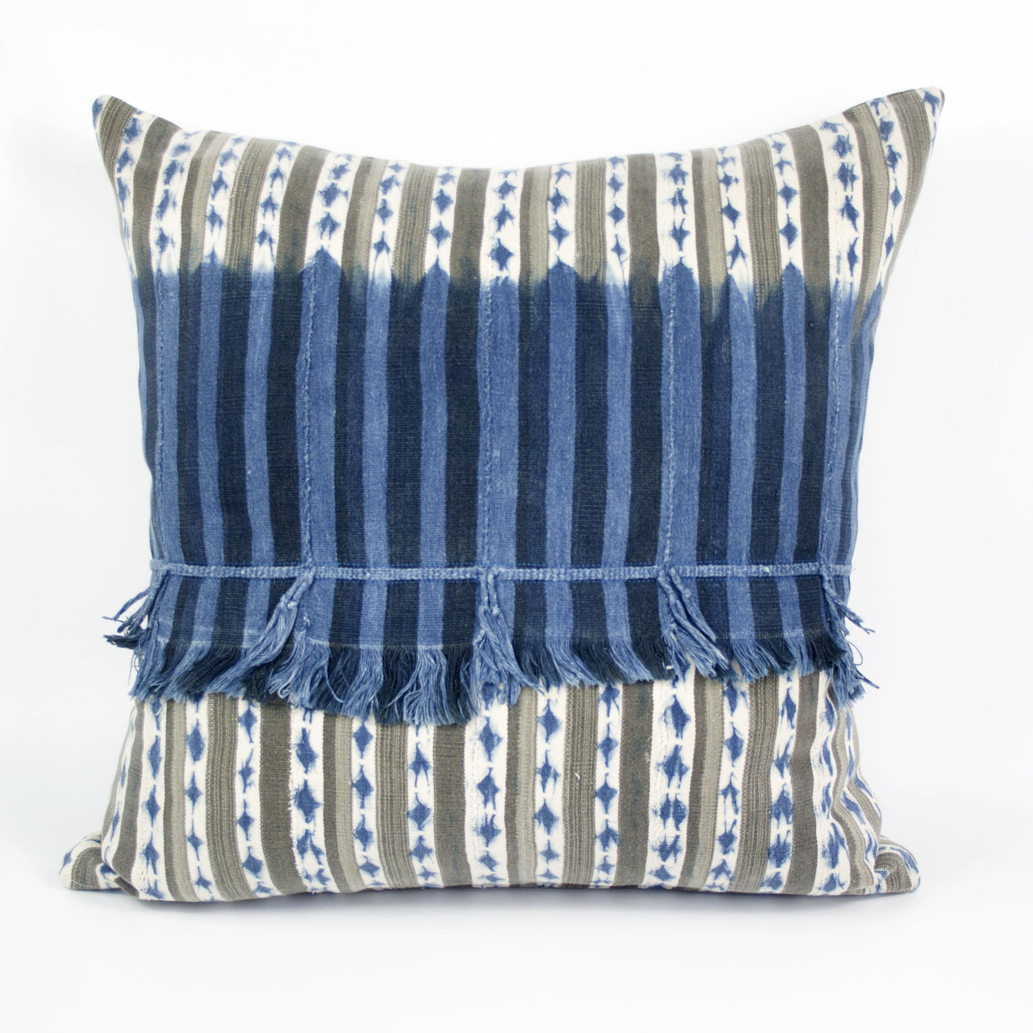 Baule Fringe Cushion
