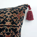 Ikat Cushions with Beaded Tassels - picture 5