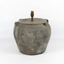Mid Century Terracotta Pot Lamp - picture 1