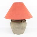 Mid Century Terracotta Pot Lamp - picture 4