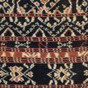 Vintage Savu Ikat Cushions with Fringe Trim - picture 3