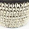Vintage African Cowrie Shell Basket - picture 4