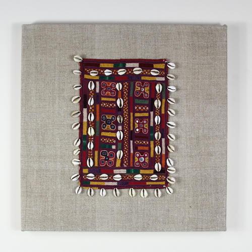 Framed Banjara Textile