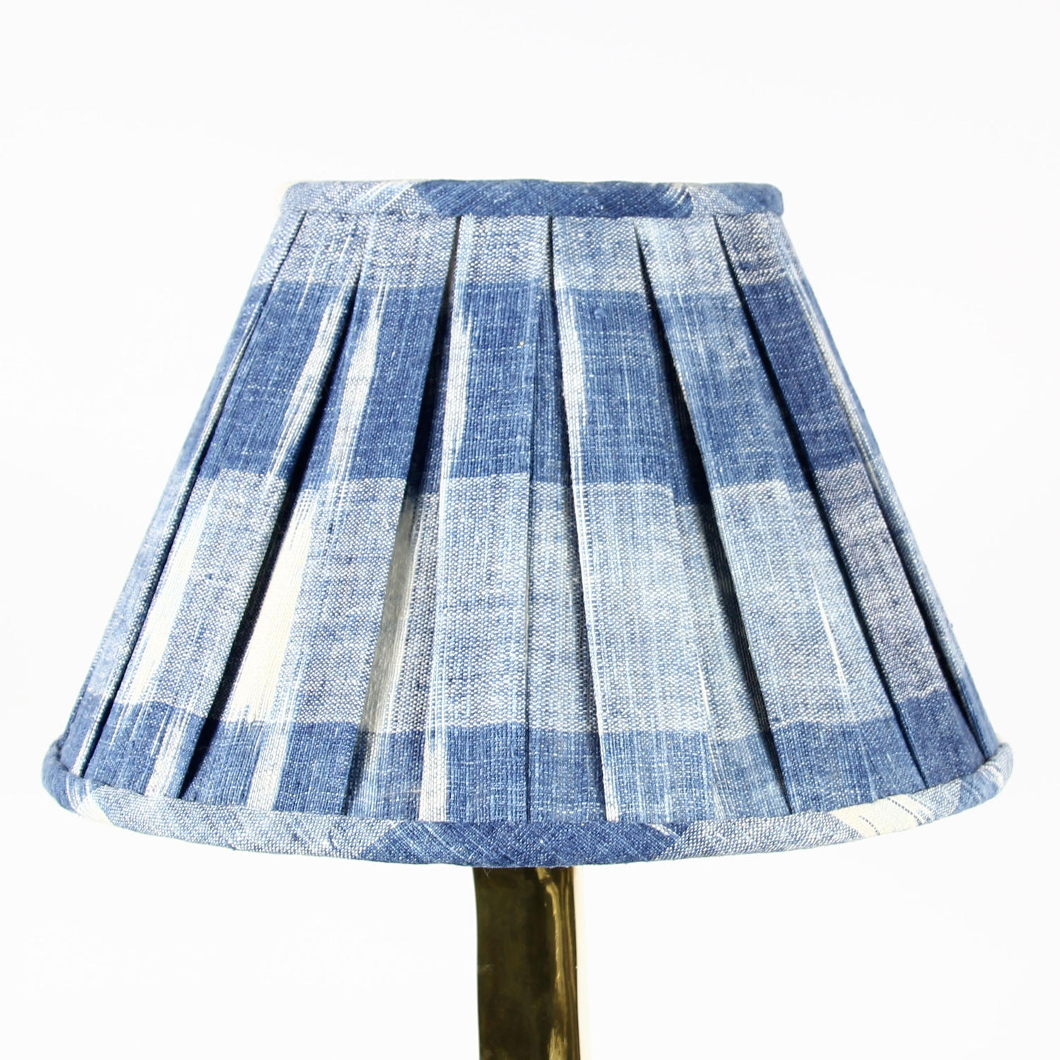 Pleated Ikat Shades
