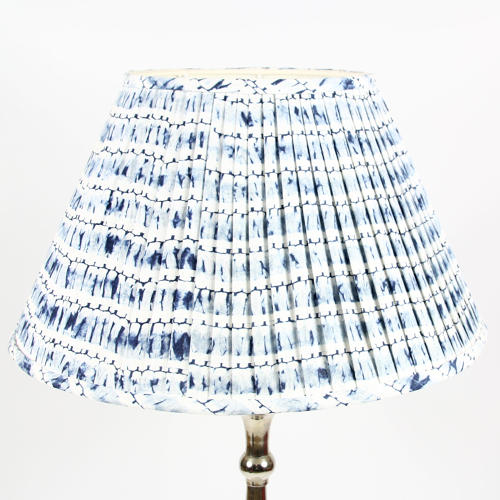 Shibori Pleated Shades