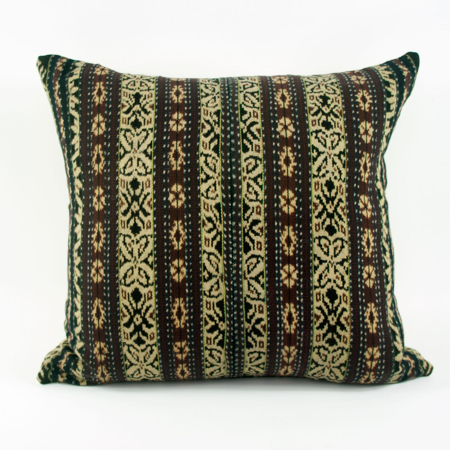 Ikat Cushions, Mustard & Brown