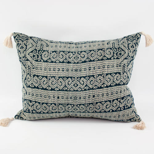 Ikat Cushions with Tassels