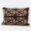 Ikat Cushions with Fringe Trim - picture 2