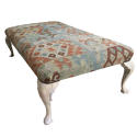 Large Antique Footstool / Coffee Table - picture 1