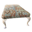 Large Antique Footstool / Coffee Table - picture 2