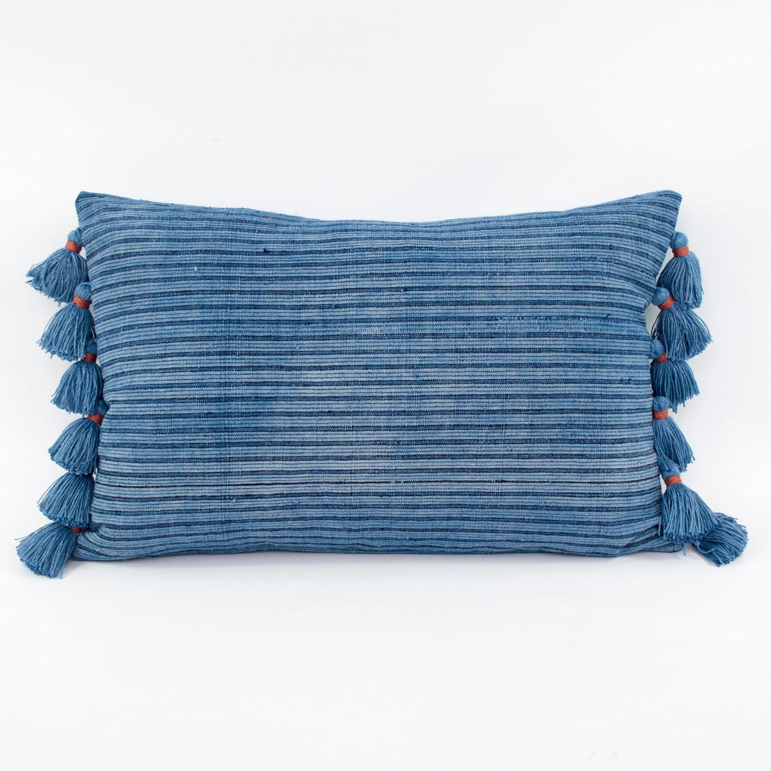 Indigo Shui Cushions with Tassels
