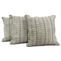 Yoruba Cushions with Green Stripe - picture 5