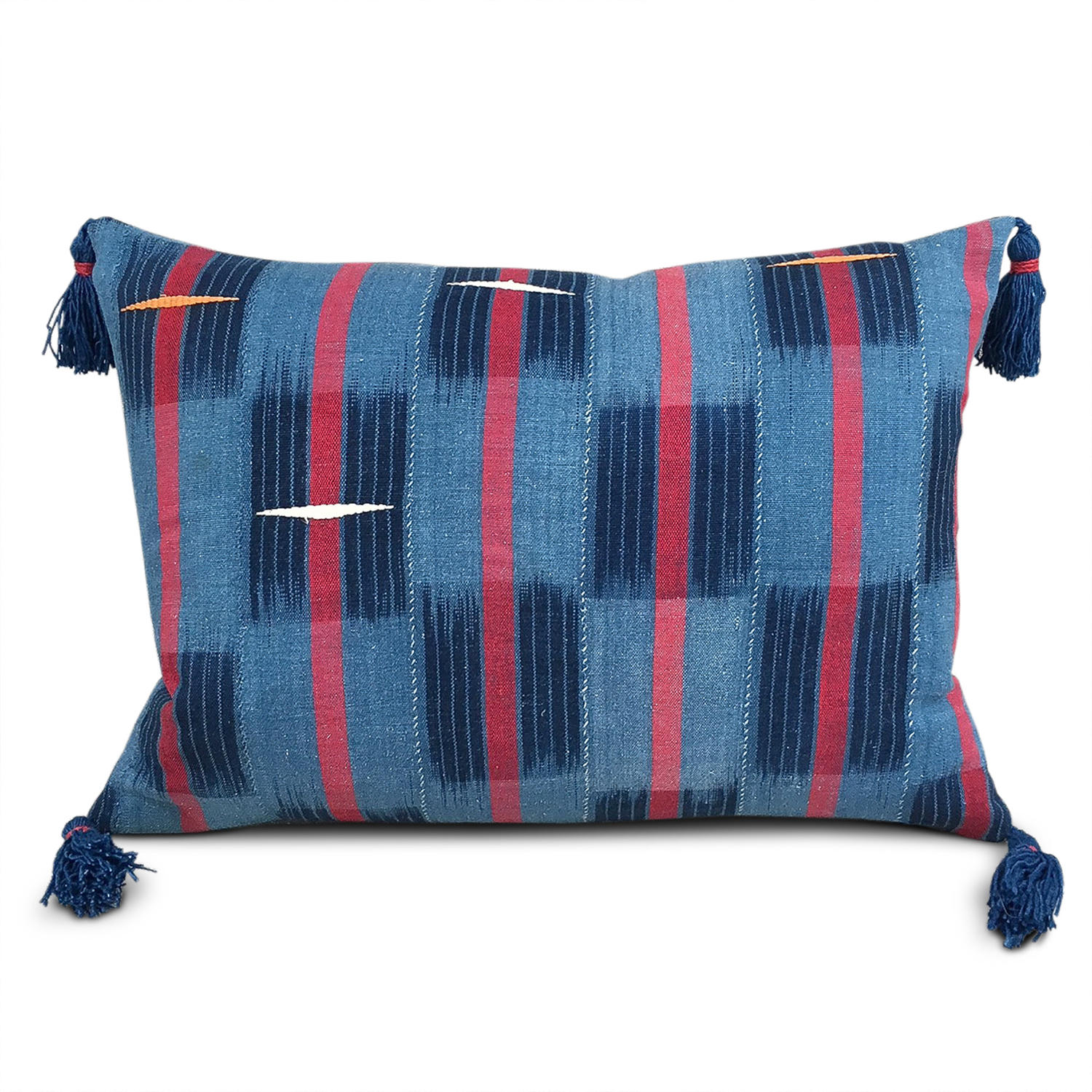 Vintage Dioula Cushions with Tassles