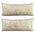 Yellow Gold Wedding Blanket Cushions - picture 1