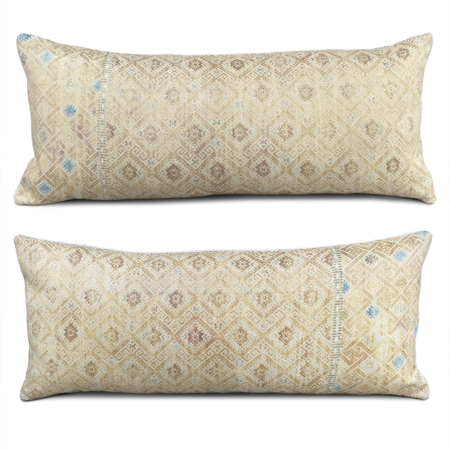 Yellow Gold Wedding Blanket Cushions