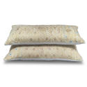 Yellow Gold Wedding Blanket Cushions - picture 2