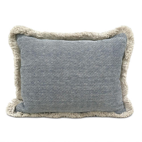 Shui Cushions with Cotton Fringe