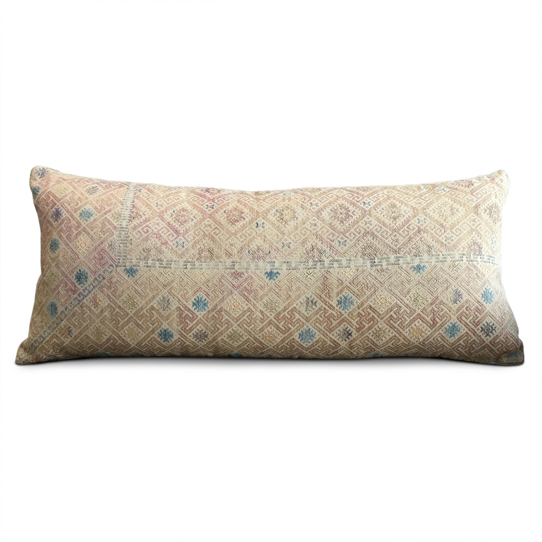 Yellow Wedding Blanket Cushion