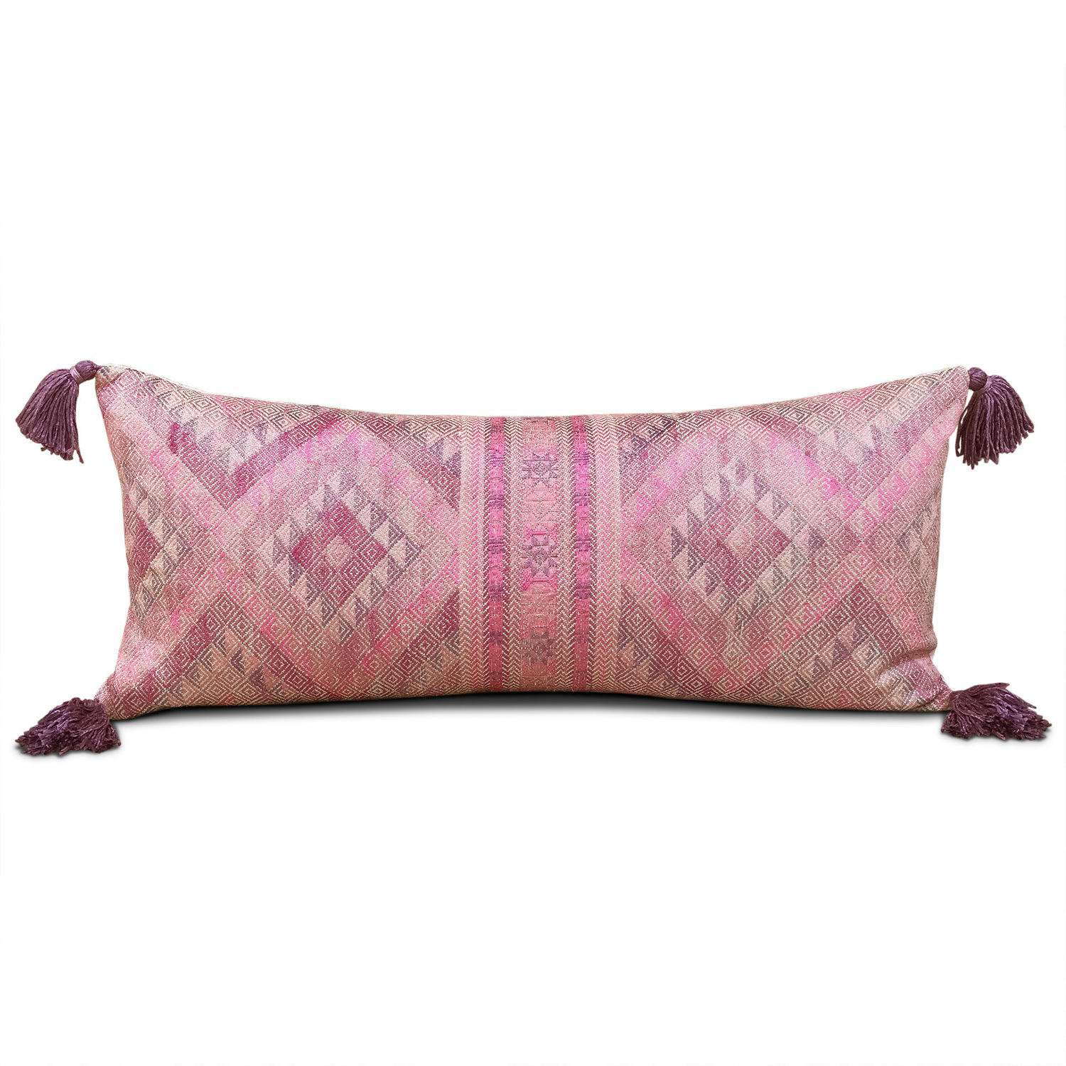Yao Wedding Blanket Cushion with Tassels