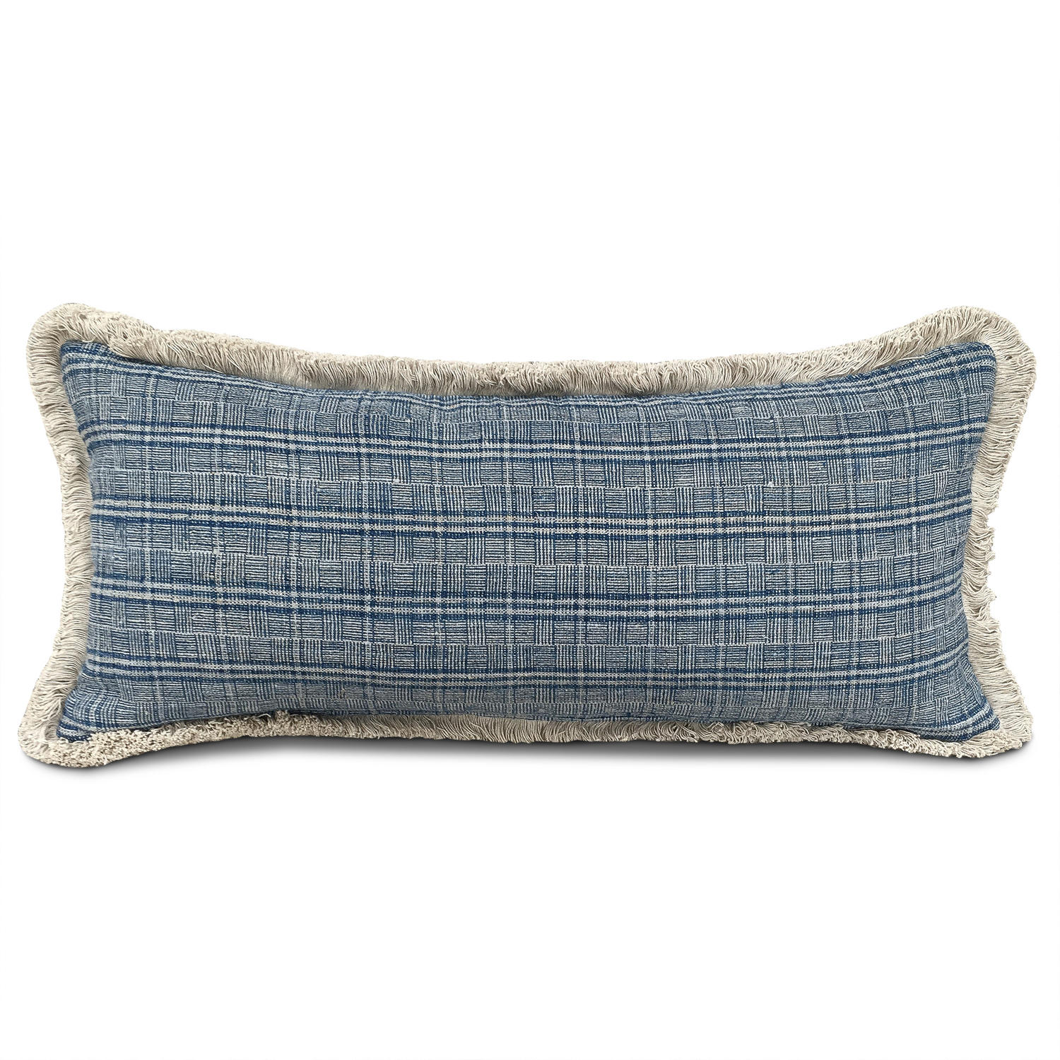 Long Shui Cushion with Fringe