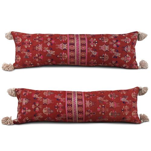 Long Maonan Cushions