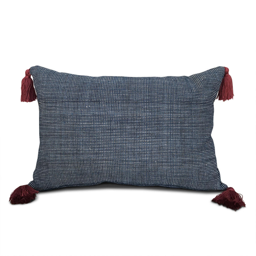 Shui Cushions with Red Tassels